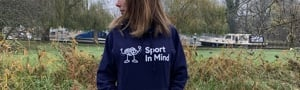 Sport in Mind Unisex Hoodie (Navy Medium)