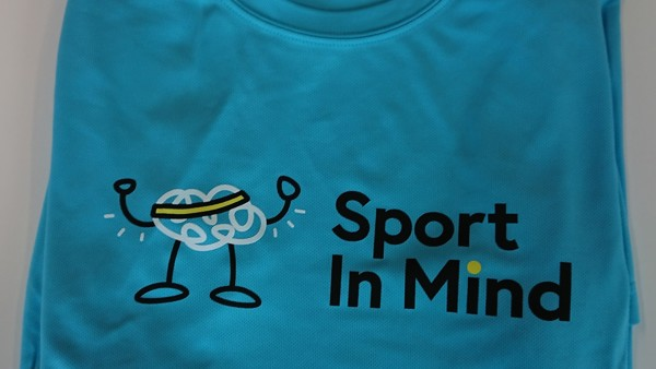 Sport In Mind T-shirt (blue medium)