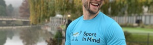 Sport in Mind Unisex T-Shirt (Blue Small)